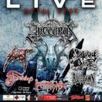 Porto Live Metal Fest @Genova, Arcturus + Sadist + Mortuary Drape + Northwinds 29/07/2017